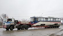Украинские города под конец года получают новый городской электротранспорт. Фото