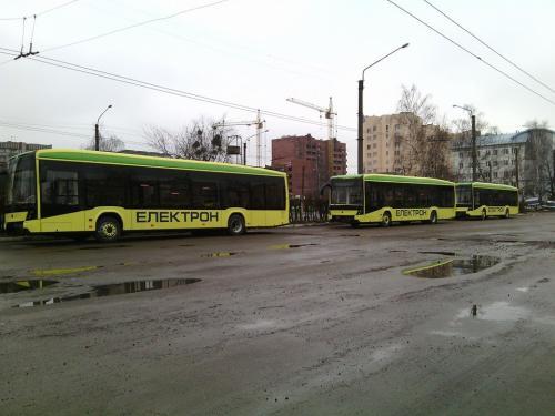 "Львов закупит 50 троллейбусов у концерна ""Электрон"""