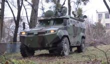 Украинский завод завершает испытания еще одного бронеавтомобиля. Фото