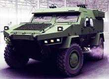 В Украине разрабатывают еще один бронеавтомобиль. Фото