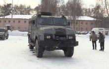 """Украинский бронеавтомобиль """"Варта"""" проходит ходовые испытания. Видео"""