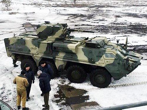 Український БТР обладнали двигуном від Mercedes - фото 1