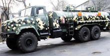 В Украине выпустили новый топливозаправщик на базе КрАЗ. Фото
