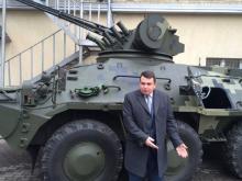 Антикоррупционное бюро получило на вооружение БТР-3E. Фото
