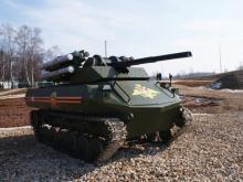 Россия создает целое семейство боевых роботов. Видео