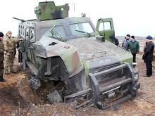 Что происходит внутри бронеавтомобиля во время подрыва на мине. Эксклюзивное видео