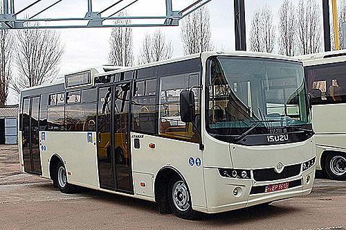 Полтава активно формирует парк автобусов у коммунального перевозчика