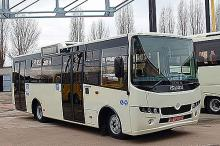 В Украине создали новейший городской автобус, соответствующий нормам Евро-5