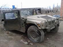Что осталось от армейского Hummer после атаки из засады. Фото