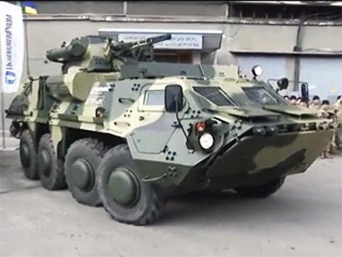Харьковский завод им. Малышева начнет выпускать корпуса для БТР-4Е