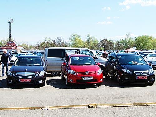 В ноябре в Украине установлен рекорд на рынке импортных подержанных автомобилей