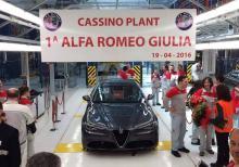 Alfa Romeo начала серийное производство седана Giulia. Фото