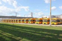 Черкассам подарили 15 низкопольных троллейбусов. Фото