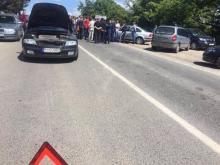 """Погранпереход """"Ужгород"""" опять заблокировали владельцы автомобилей иностранной регистрации"""