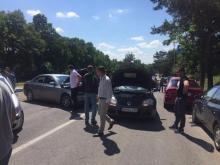 На границе со Словакией вновь протесты владельцев авто иностранной регистрации