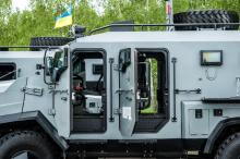 Еще один украинский бронеавтомобиль пошел в серию. Фото