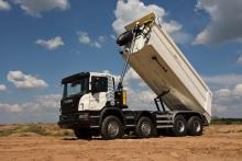 Scania представит в Киеве новый строительный самосвал - Scania