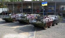Волонтентеры из Николаева за 2 года отремонтировали 150 единиц боевой техники. Фото - броне