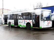 КАМАЗ испытывает электроавтобус. Фото