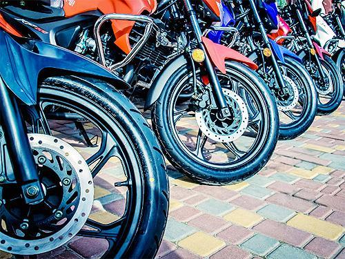 В Украине стремительно растет рынок мотоциклов. Итоги 1 полугодия