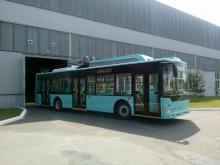 Черниговский автозавод выпустил троллейбус с автономным ходом