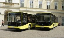 Львов получил 7 новеньких автобусов