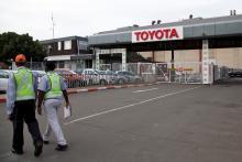 Toyota остановила еще 2 завода в Японии