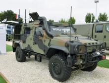 На выставке Eurosatory 2016 дебютировало второе поколение бронеавтомобиля IVECO LMV