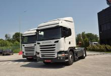 Тягачи Scania опять выбрали для перевозок топлива