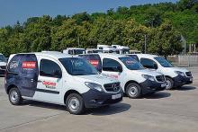 Первая в Украине партия Mercedes-Benz Сitan поступила к корпоративному клиенту