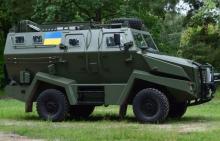 Украинские пограничники испытывают турецкий броневик и замену УАЗам. Видео