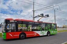 Украинский электробус Богдан оснастили системой быстрой подзарядки - Богдан