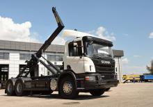 Scania поставила в Украину партию внедорожных контейнеровозов