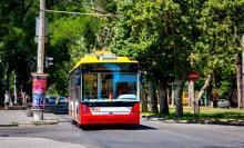 В Одессе на линию вышли все новенькие троллейбусы Богдан