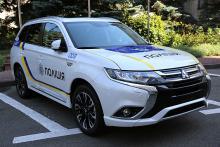 Аваков: Гибридные Mitsubishi Outlander в основном получит полиция в регионах - Mitsubishi
