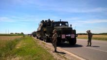 Основу армейской спецтехники в украинской армии составляют КрАЗы. Фото - КрАЗ