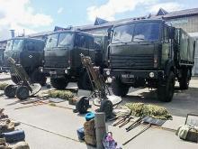 Армейские Богдан-МАЗы появились на вооружении ВСУ. Фото
