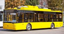 Хмельницкий закупает новые троллейбусы Богдан