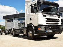 Scania поставила в Украину грузовики с редким типом шасси