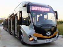 В Турции представили самый длинный в мире автобус
