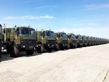 В армию передали крупные партии Богдан-МАЗов и КрАЗов
