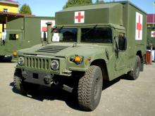 Украинская армия получит 40 медицинских HMMWV от США