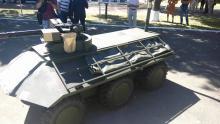 В Украине создали первый беспилотный БТР