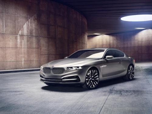 демонстрация новой версии автомобиля bmw gran coupe к новой версии к автомобилю bmw