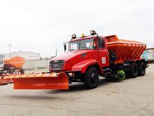 КрАЗ создал коммунальный грузовик для г.Прилуки