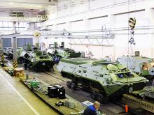 Новую партию БТР-3ДА приняли на вооружение. Видео