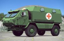 Украина может выпускать собственный специальный армейский грузовик 4х4