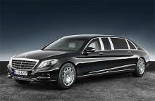 У Mercedes-Benz появилась бронированная версия лимузина Maybach S600 Pullman - Mercedes-Benz