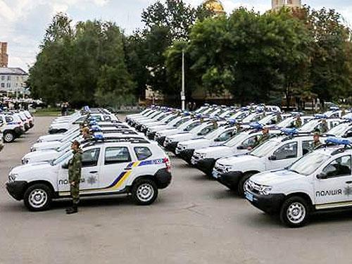 Полиция закупит еще 150 штук Renault Duster