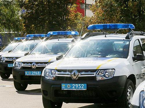 Национальная полиция объявила тендер на закупку кроссоверов